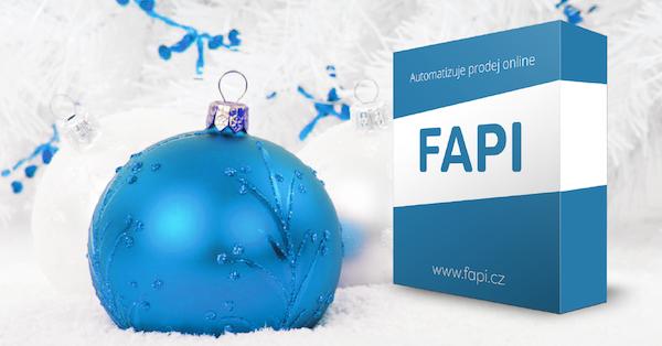 FAPI - 3 tipy jak navánoční prodej