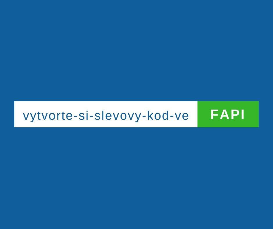 Slevový kód ve FAPI